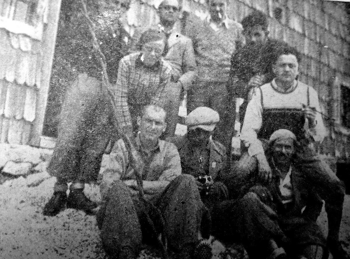 Planinari na Kredarici 1934.