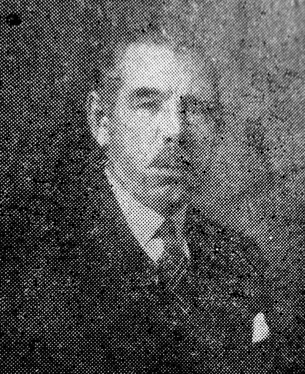 Viktor Borovečki, osnivač i prvi predsjednik društva